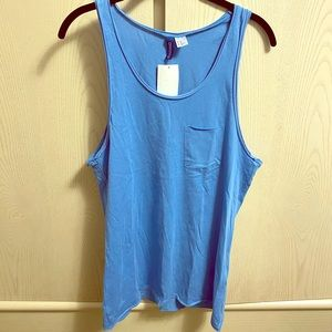 Sky blue H&M men's tank